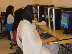 FESF Pakistan women IT training