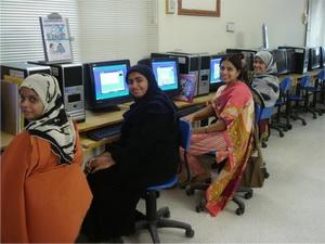 FESF Pakistan women computer