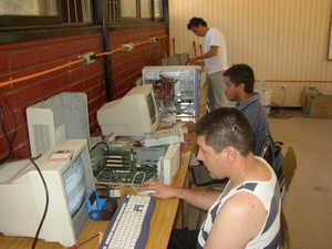 FEDES Chile computer training