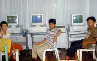 indonesia street kids computer
