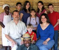 Morrow family kazembe orphanage zambia
