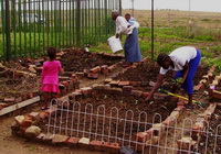 Family Africa women food garden johannesburg