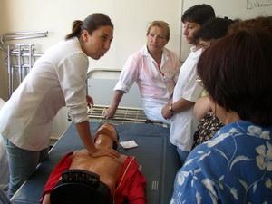 FEDES Chile nurse aid