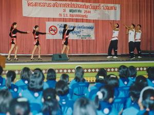 anti drug presentation esahn thailand