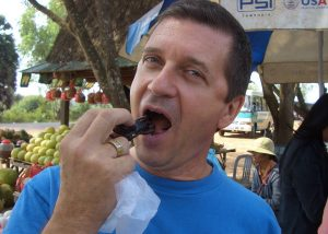 CAMBODIA spider snack