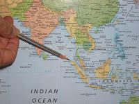 Banda Aceh Indonesia map