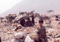 Trujillio Peru garbage dump
