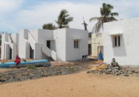 india 10 completed Kovalam housing