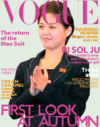 A Satirical Vogue Profile Of The New First Lady Of North Korea