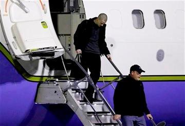 Matthew Miller arrives in US from North Korea